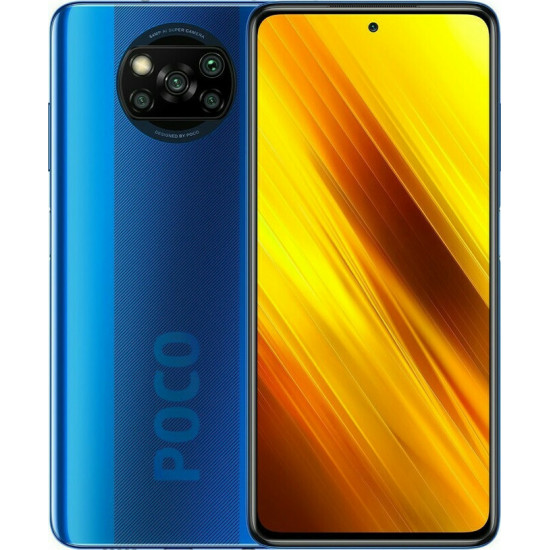 Xiaomi Poco X3 6GB/64GB Cobalt Blue Dual Sim (Global Version) EU
